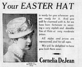 Easter Hat ad