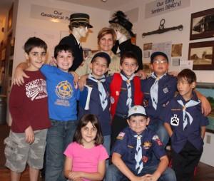 Cub scout tour
