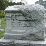 Netherwood gravestone at Prairie Mound Cemetery