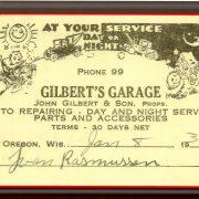 Gilberts Garage