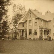 Gafke Home on Gafke Farm 1902