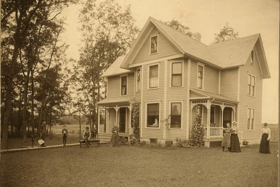 Gafke Home on Gafke Farm 1902