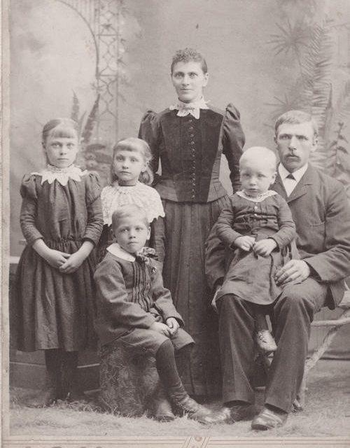Jens Peter Paulson Family